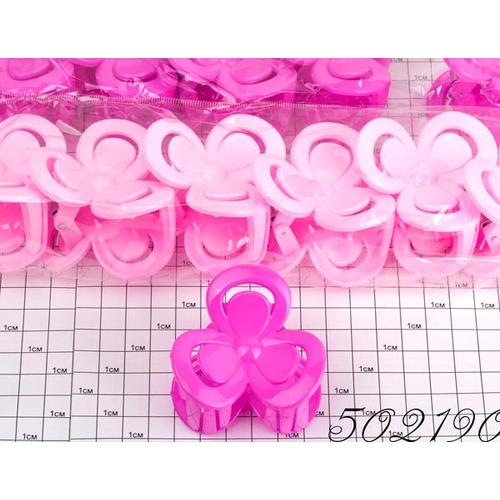 Крабы лак розовые  цветок /уп 12