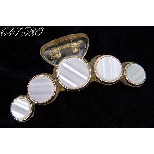 Крабы перл. диски 10 см беж