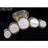Крабы перл. диски 7 см беж