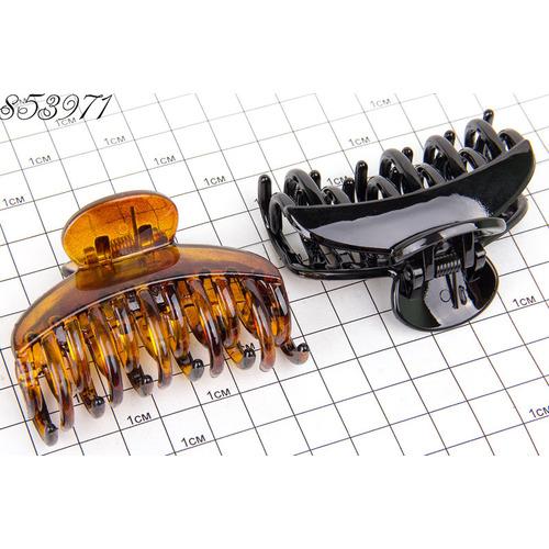 Крабы 2-е зубы чёрно коричневые /уп 6 12