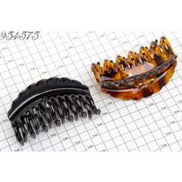 Крабы дуга 2-е зубы чёрно коричневые /уп 6 12