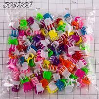 Крабики пакет 2-х цветные /уп 100