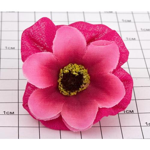 Резинки эластик цветочек /уп 20