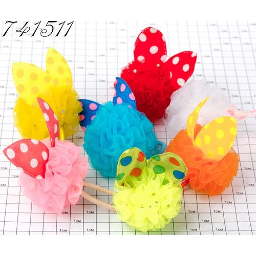 Резинки шарик с ушками /уп 10 20