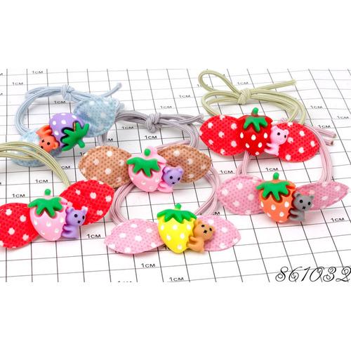 Резинки с ягодой /уп 20