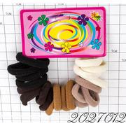 Резинки на картонке коричневые тона /уп 20