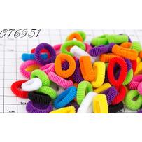 Резинки мелкая цветная /уп 200