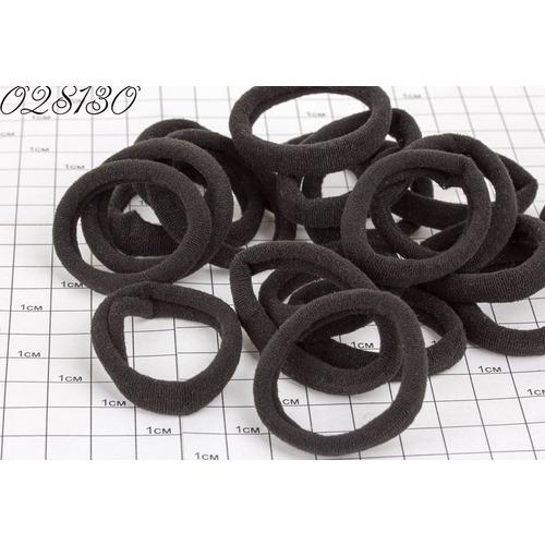 Резинки  эластик чёрные 4,5 см /уп 30