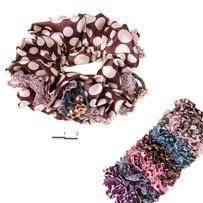Резинки горох с бисером, шитьё