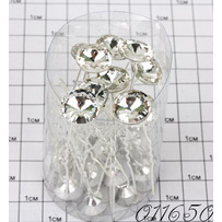 Шпильки кристалл Б /уп 20