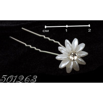 Шпильки цветок /уп 20