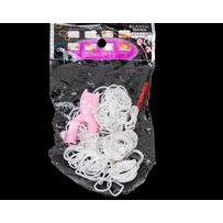 Резинки силикон белые /уп 2400