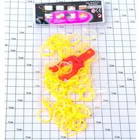 Резинки силикон оранжевые /уп 2400